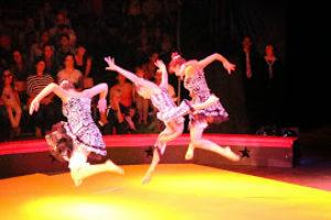 """9° FESTIVAL SUISSE DE CIRQUE DE JEUNESSE a Ginevra    1° premio categoria grandi gruppi  Per il numero di multidiscipline """"Magic"""" Circo Fortuna"""