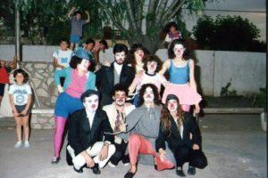 El Galpòn de Moron - Buenos Aires - Spettacolo itinerante nelle favelas di Buenos Aires anno 1988